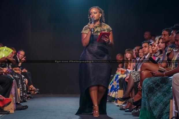 Grace msalame the female FAFA GALA 2014 mc
